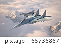 Military fighter aircraft Mig 29. 65736867
