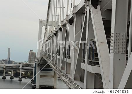レインボーブリッジのラーメン構造 65744851