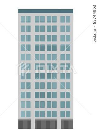 オフィスビルのベクターイラスト 65744903