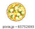 ピザ~ジェノベーゼ トマト入り 65752693