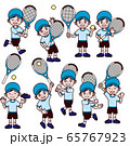 テニス 男の子 キャップ 帽子 セット 65767923