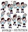 テニス 男の子 セット 65767924