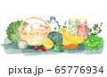 食材の水彩画 65776934