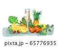 野菜と果物とジュース 65776935