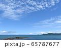青空と海/沖縄県 65787677