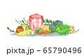 野菜とハーブと鍋 65790496