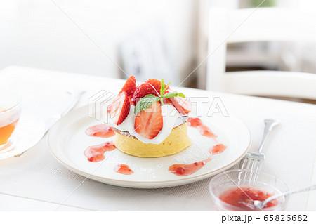手作りパンケーキ 65826682