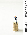 ビジネスマン お金 65826983