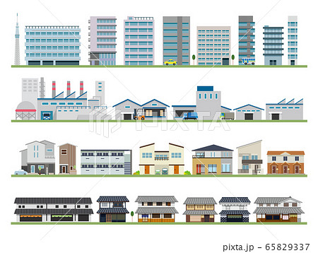 建物 ビル 工場 住宅 古民家 65829337