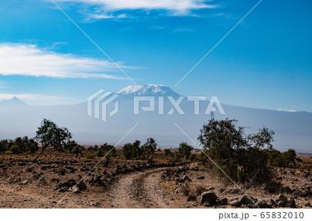 アンボセリ国立公園からのキリマンジャロ 65832010