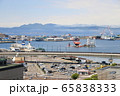 函館湾の景色<春・朝もや> 65838333