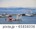 函館湾の景色<春・朝もや> 65838336