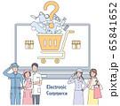 eコマースを考える小売店の人たち 65841652