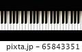 ピアノの鍵盤, 音楽, 楽器 65843351