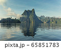 Cheow Lan lake landscape in Thailand 65851783