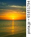 sunrise over sea 65851794