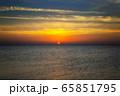 sunrise over sea 65851795