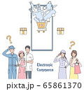eコマースを考える小売店の人たち 65861370