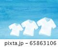 シャツ 水彩 65863106
