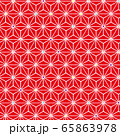 麻の葉 和柄 65863978