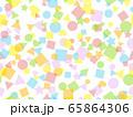 カラフルな短形のパターン 65864306