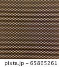 背景素材シリーズ ブラウン/オレンジドット柄 65865261