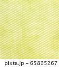 背景素材シリーズ---グランジ クロスライン ライムイエロー 65865267
