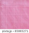 背景素材シリーズ---ピンク生地で、9X9マスで一区切りされた珍しいパターン 65865271