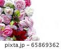 自然 ピンク バラの花 65869362