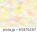 三角形とグラデーションのシームレスな背景1 65870287