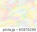 三角形とグラデーションのシームレスな背景3 65870290