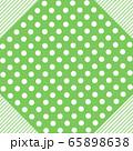 フレーム 枠 水玉模様 ドット 水玉 ドット模様 点描 ドット柄 ドット背景 65898638