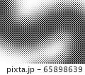 フレーム 枠 水玉模様 ドット 水玉 ドット模様 点描 ドット柄 ドット背景 65898639