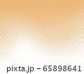 フレーム 枠 水玉模様 ドット 水玉 ドット模様 点描 ドット柄 ドット背景 65898641