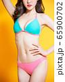 asian woman wear bikini swimsuit 65900702