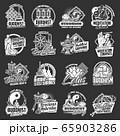 Buddhism religion symbols and icons 65903286