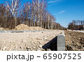 construction of a new modern road 65907525