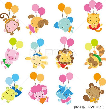 動物-バルーン 65910646