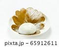 柏餅。(白皿・白バック) 65912611