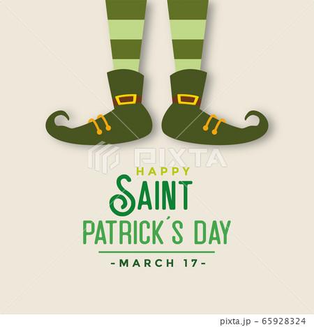 Saint patricks day card 65928324