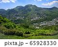 明星ヶ岳から強羅付近【箱根】 65928330