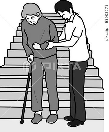 医療 介護 福祉 イラスト 身体介護 生活 65933575