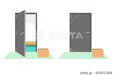 置き配 ドアの開閉 65935268