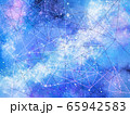 銀河と幾何学線背景 65942583