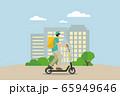 Delivery vector transport flat design. 65949646