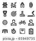[Fitness Icon Set] Pixel Perfect 48x48 65949735