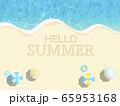 リゾート 夏 ビーチ 65953168