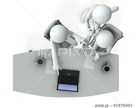 協力して問題解決するチーム 65976962