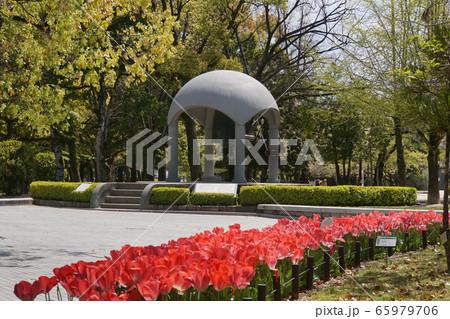 春の平和公園 65979706