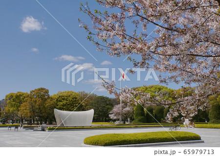 春の平和公園 65979713